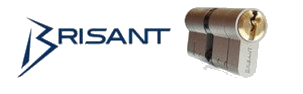 Logo for Brisant Products - high security locks for the home and business