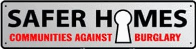 Logo for Safer Homes by Derby Police showing pick Me Locksmith Ashby operate to police standards