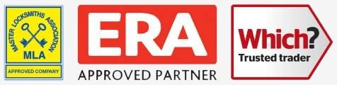 Logo for ERA Approved Locksmith Status including Which Approved