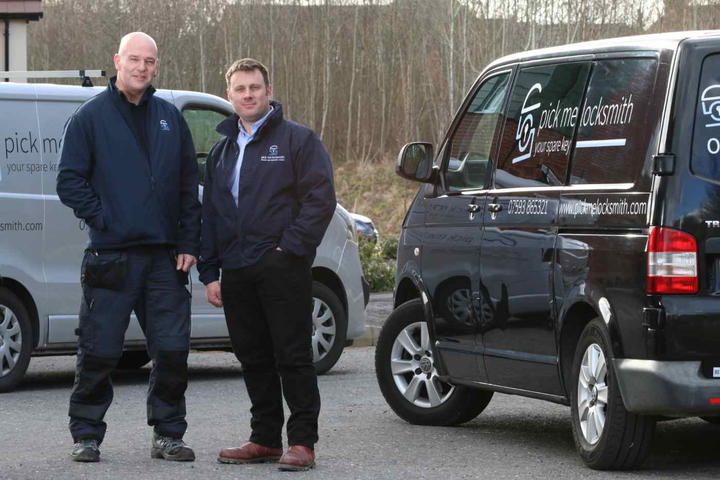 Who we are - Pick me Locksmith Ltd - Mark and Steve - Tablet